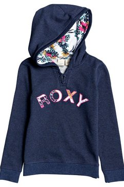 roxy hoodie »really love a« blauw