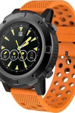 denver »sw-660« smartwatch oranje
