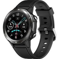 denver »sw-350« smartwatch zwart
