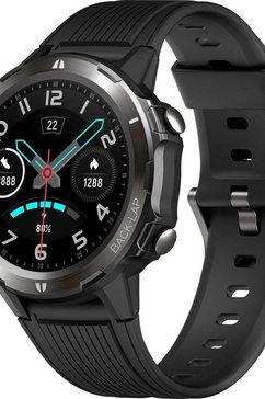 denver »sw-350« smartwatch zwart