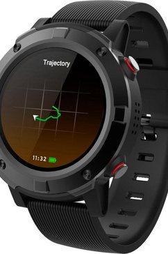 denver »sw-660« smartwatch zwart