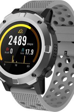 denver »sw-660« smartwatch grijs