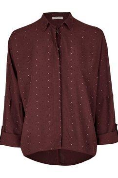 heimatliebe blouse met sterretjesprint rood