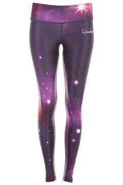winshape legging »ael102-space« paars