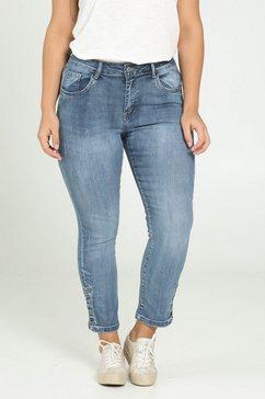 paprika wijde jeans blauw