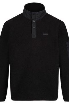 regatta fleecetrui »herren fleece-pullover cormac mit knopfleiste« zwart