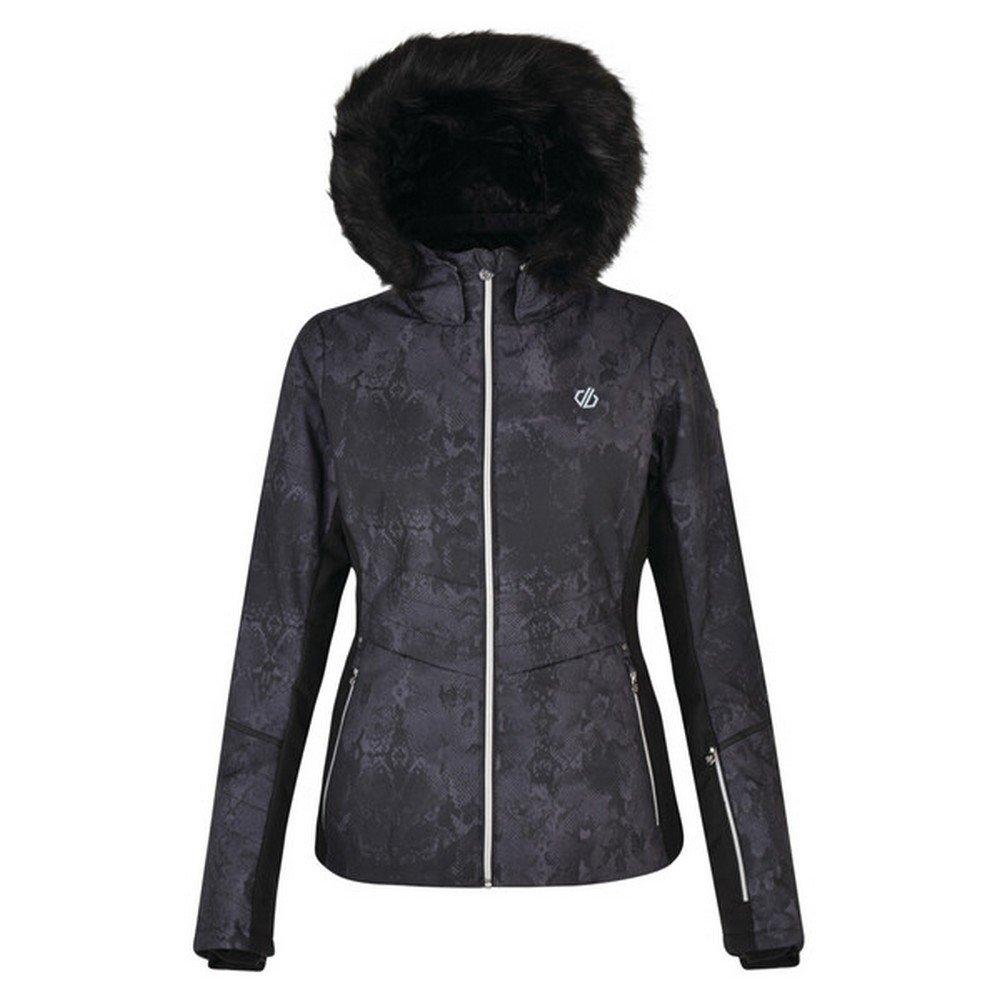 Dare2b ski-jack »Damen Skijacke Iceglaze mit Kapuze mit Kunstfellbesatz« voordelig en veilig online kopen
