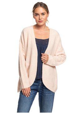 roxy vest met laagvallende schouders ''delicate mind'' roze