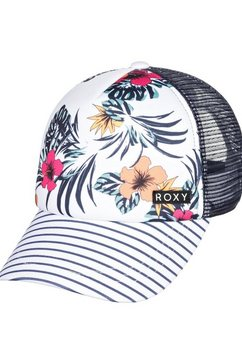 roxy trucker-cap »honey coconut« wit