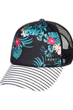 roxy trucker-cap »honey coconut« zwart