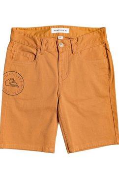 "quiksilver short »pebbly blu 17""« oranje"