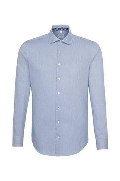 seidensticker businessoverhemd »shaped« blauw
