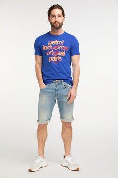 petrol industries t-shirt blauw