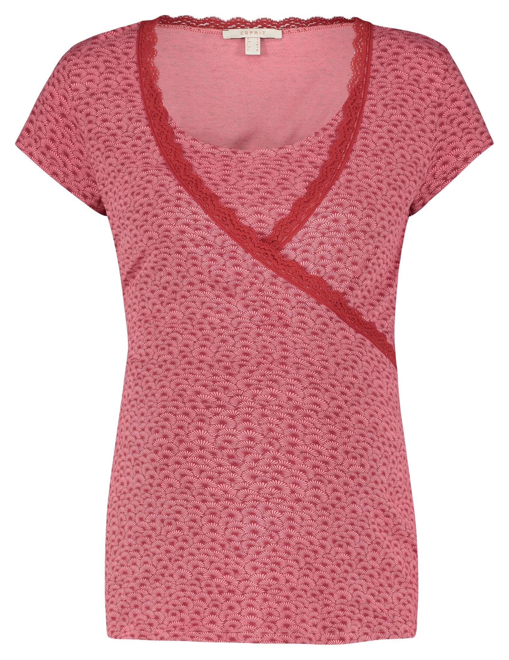 Esprit Maternity pyjamashirt met voedingsfunctie voordelig en veilig online kopen