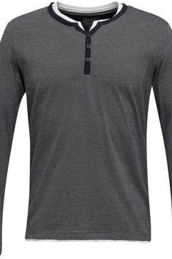 esprit shirt met lange mouwen zwart