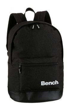 bench. rugzak met een beklede rug zwart