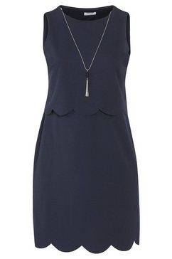 geruite jurk blauw