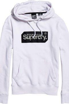 superdry hoodie wit