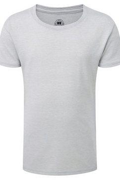 russell t-shirt »maedchen kurzarm hd« zilver