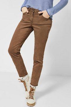 cecil five-pocketsbroek bruin