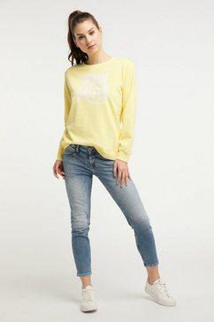 petrol industries sweatshirt geel