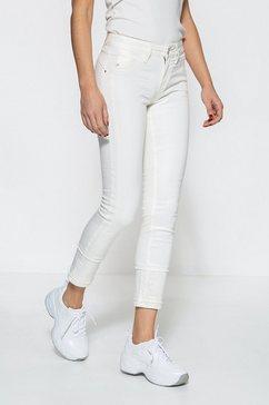 att jeans slim fit jeans »belinda« wit