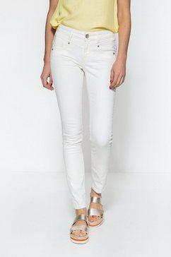 att jeans slim fit jeans »zoe« wit