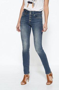 att jeans 5-pocketsjeans »chloe« blauw