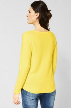 cecil gebreide trui geel