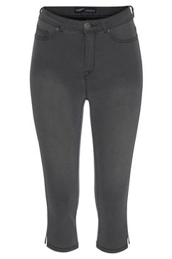 arizona capri jeans »ultra stretch« grijs