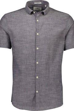 lindbergh overhemd met korte mouwen »overhemd met korte mouwen« blauw