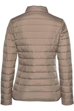 icepeak gewatteerde jas »peoria« bruin
