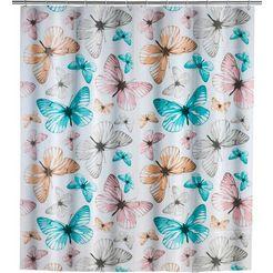 wenko douchegordijn »butterfly« multicolor