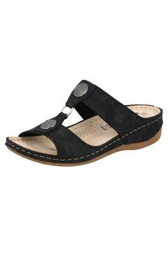 lico slippers »bequempantolette pantolo« zwart