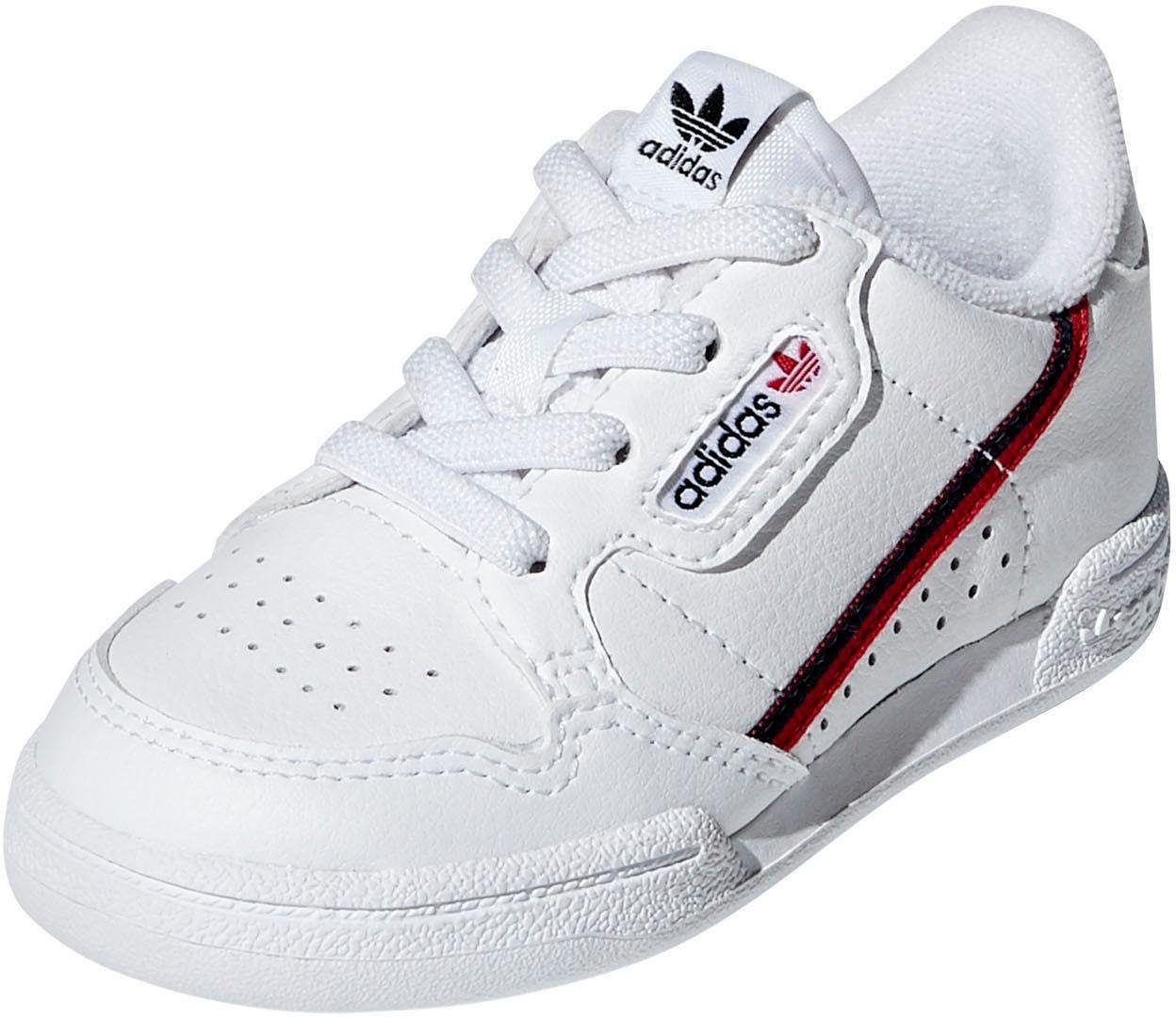 White ADIDAS Sneakers CONTINENTAL 80 EL I