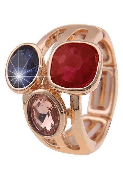 leslii ring Royal, 250118596 met glassteentjes - verschillende betaalmethodes