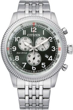 citizen chronograaf »at2460-89x« zilver