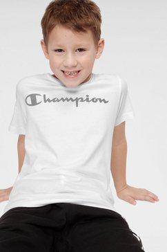 champion t-shirt »crewneck t-shirt« wit