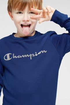 champion sweatshirt »crewneck sweatshirt« blauw