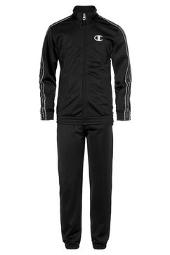 champion trainingspak »full zip suit« (set, 2-delig) zwart