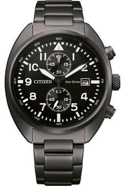 citizen chronograaf »ca7047-86e« zwart
