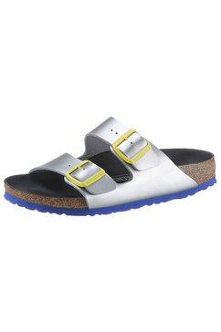 birkenstock slippers »arizona« zilver