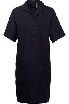 g-star raw jerseyjurk »polo straight dress ss« blauw