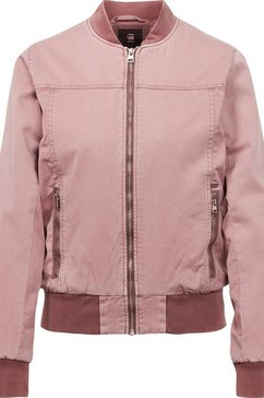 g-star raw bomberjack »chopper slim bomber« roze