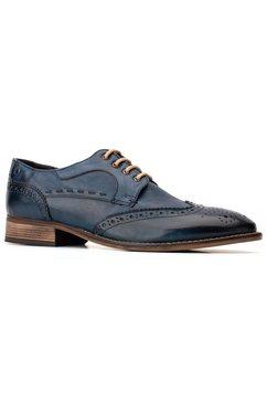 base london schoenen met perforatie »kitching« blauw