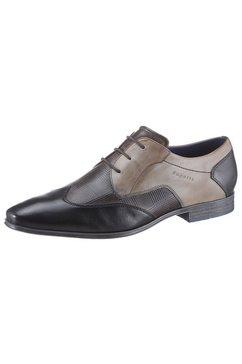 bugatti schoenen met perforatie »morino« grijs