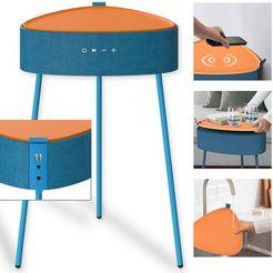 fontastic bluetooth-luidspreker »mesu draadloze luidspreker-tafel« blauw