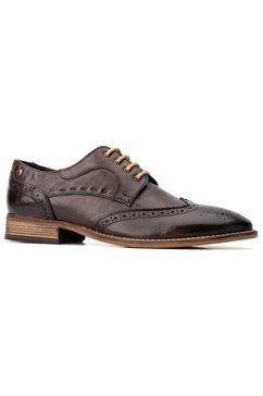 base london schoenen met perforatie »kitching« bruin