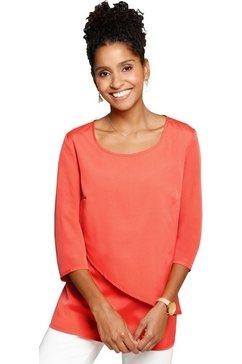 classic basics blouse zonder sluiting rood