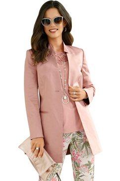 lady lange blazer roze